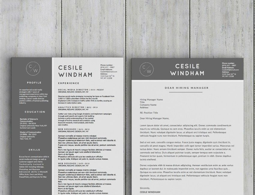 Stand Out Resume Templates Cesile Windham Resume Template  Stand Out Shop  Money Getting