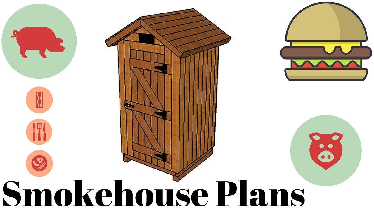 How to build a smokehouse - Free smokehouse plans