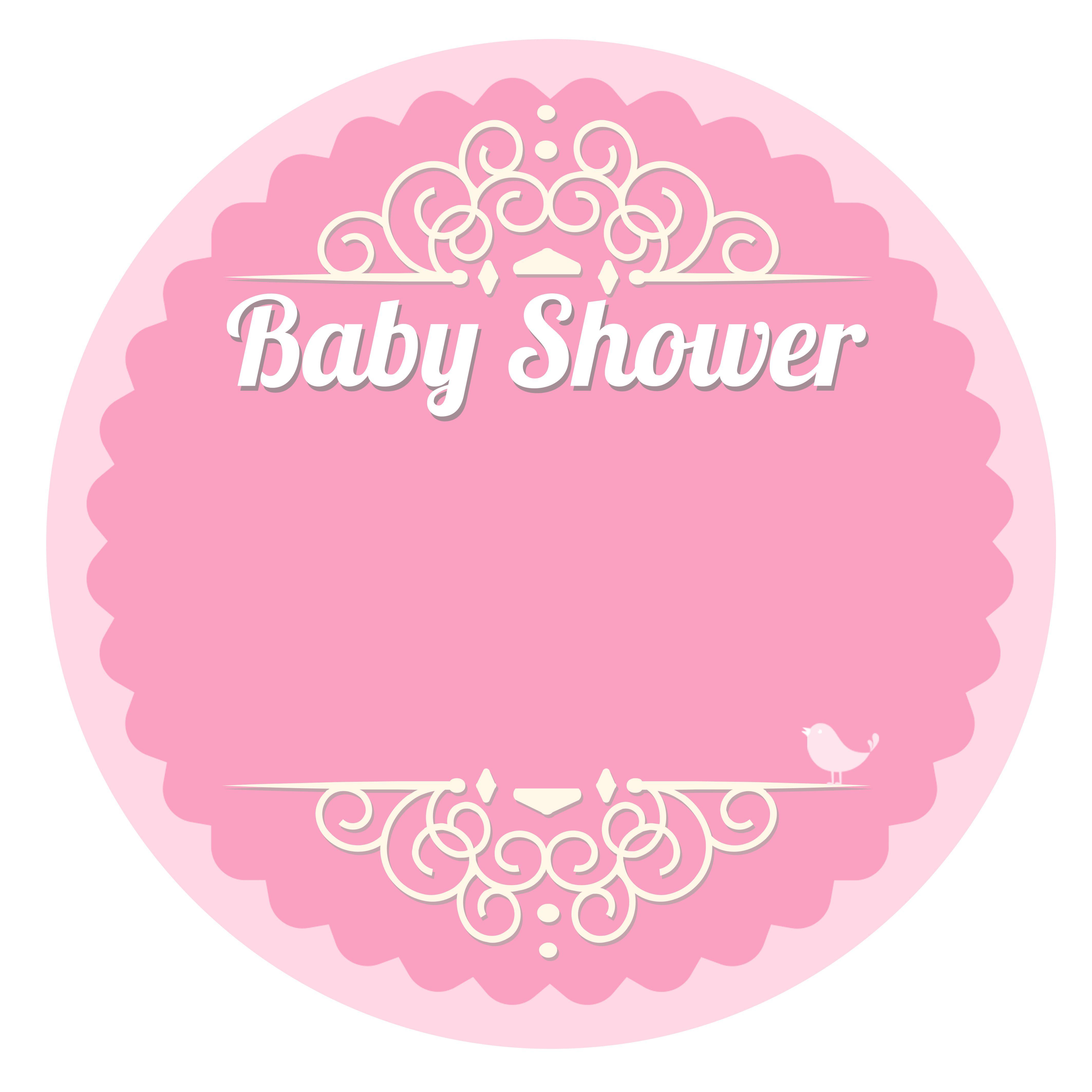 plantillas baby shower de la web Bebé Pinterest
