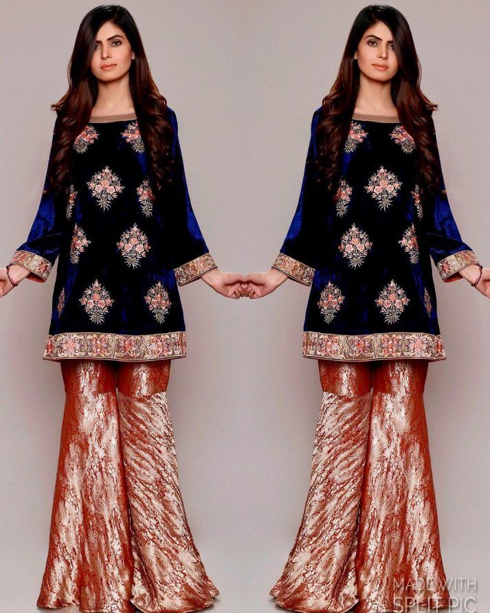 Best Winter Velvet Dresses Designs Latest Trends Collection 400 x 300