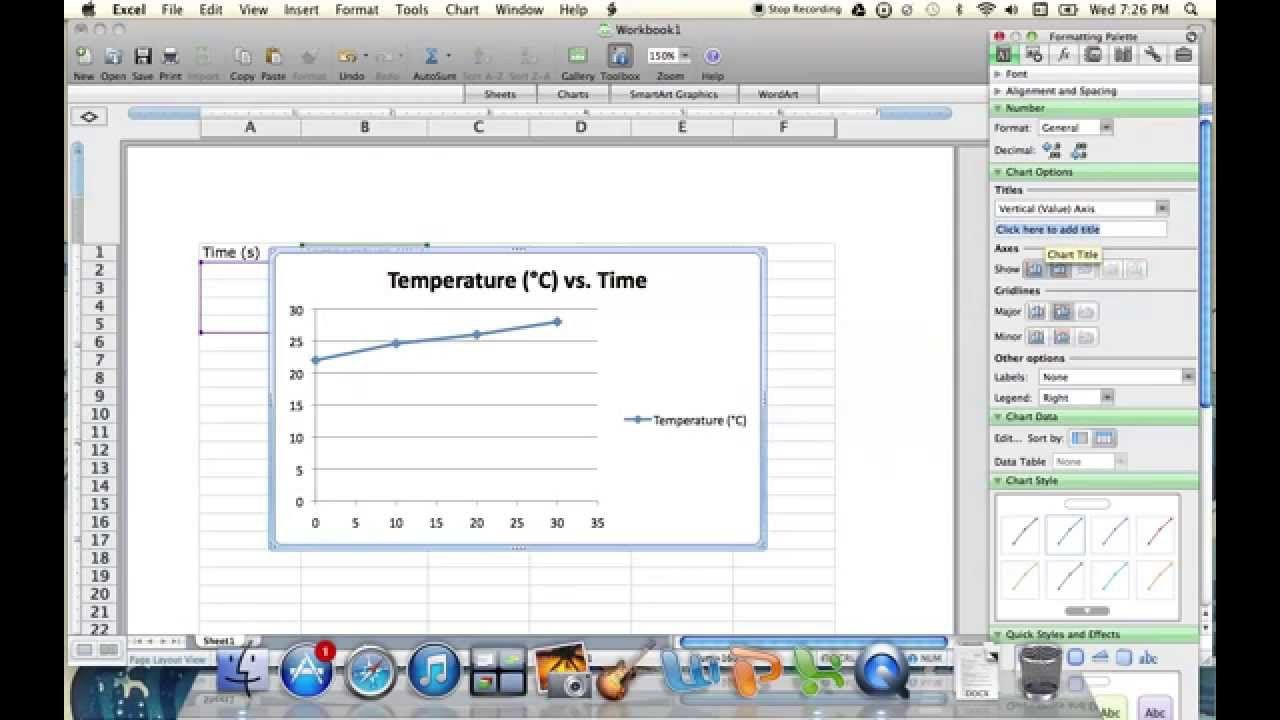 how to make a line graph on google docs