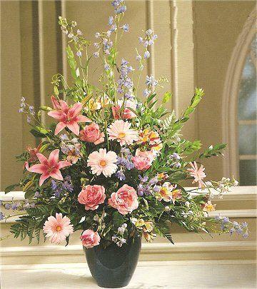 Wedding Centerpiece For Church Altar Wedding Church Altar Decorations 0001 Wedding Ceremony Flowers Wedding Flowers Church Wedding Decorations