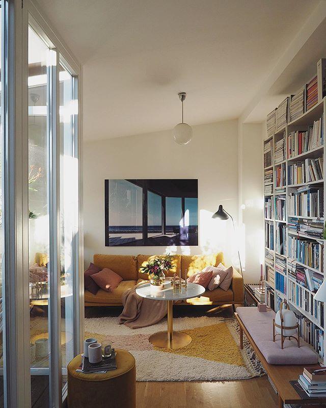 "Friederike az Instagramon: ""yesterday's #sunshine . . . . . #happycolors and #sofatime #sunnyday #cozyplace #cornersofmyhome #scandinaviandesign #couchstyle…"""