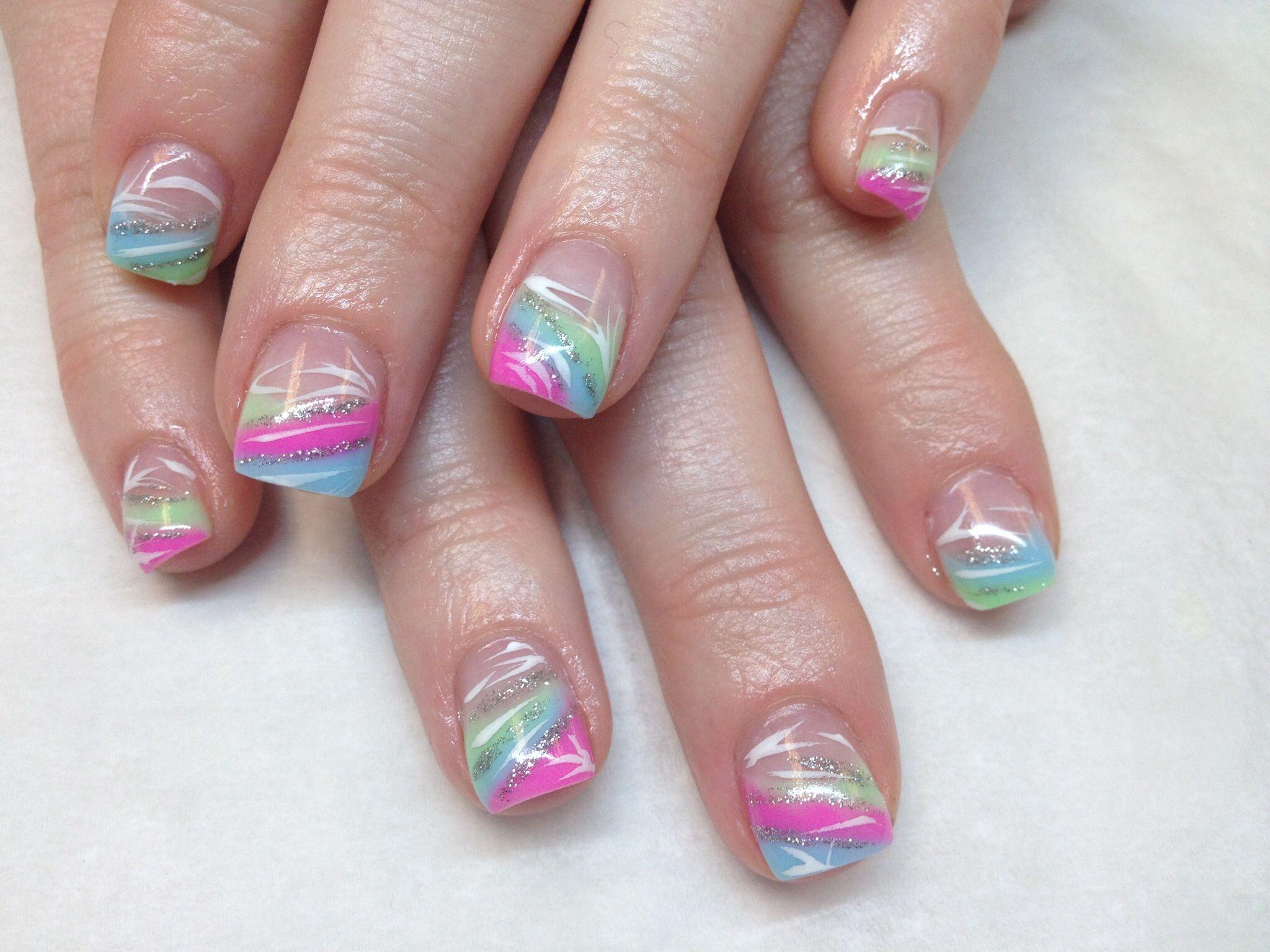 Bright Summer Colors Bright Summer Nails Designs Summer Gel