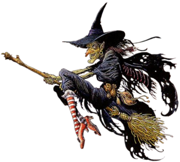 Witch Png Halloween Illustration Vintage Witch Witch Art