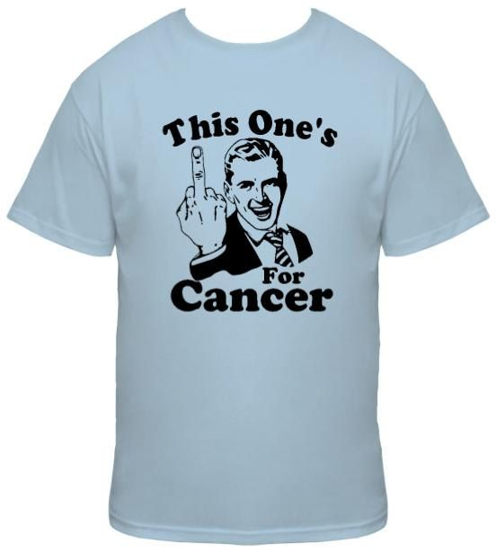 e7d6aedefe50e This One s Middle Finger For Cancer Tshirt by BreastCancerWear