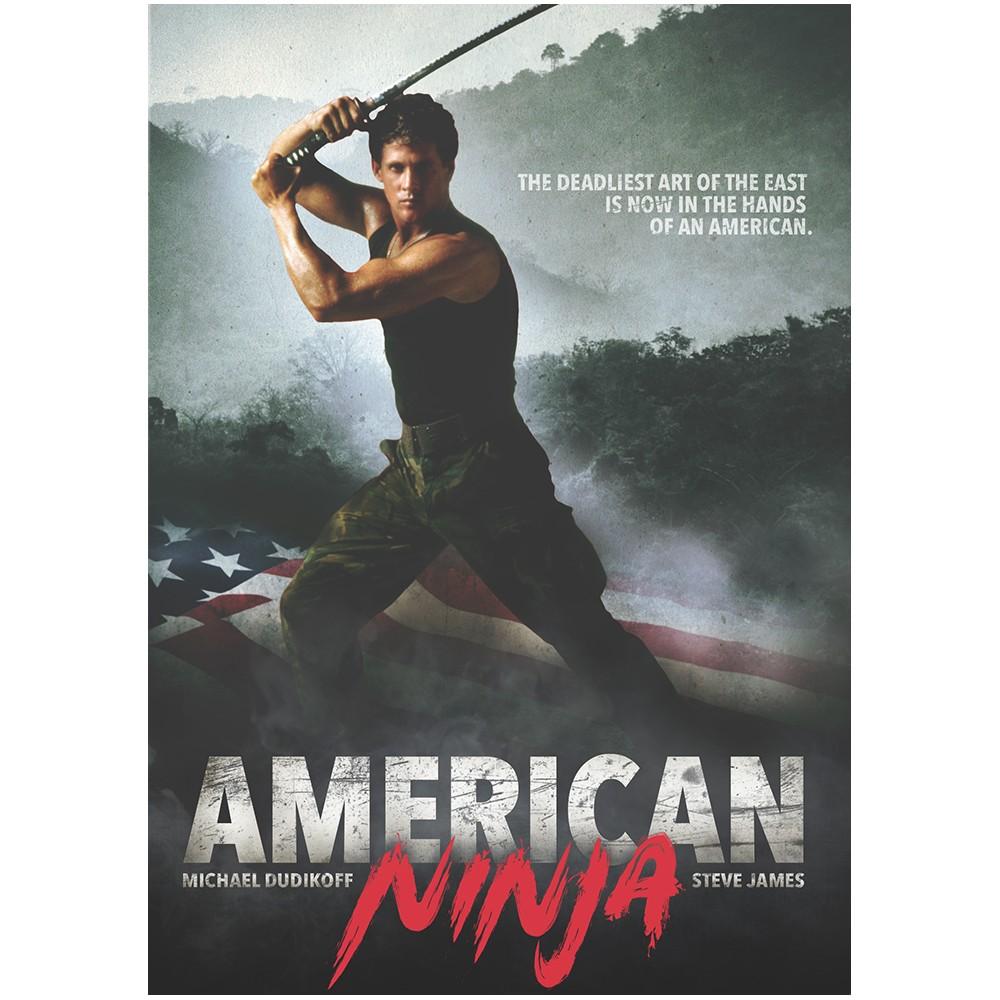 American Ninja (DVD) American, Ninja movies, Dvd