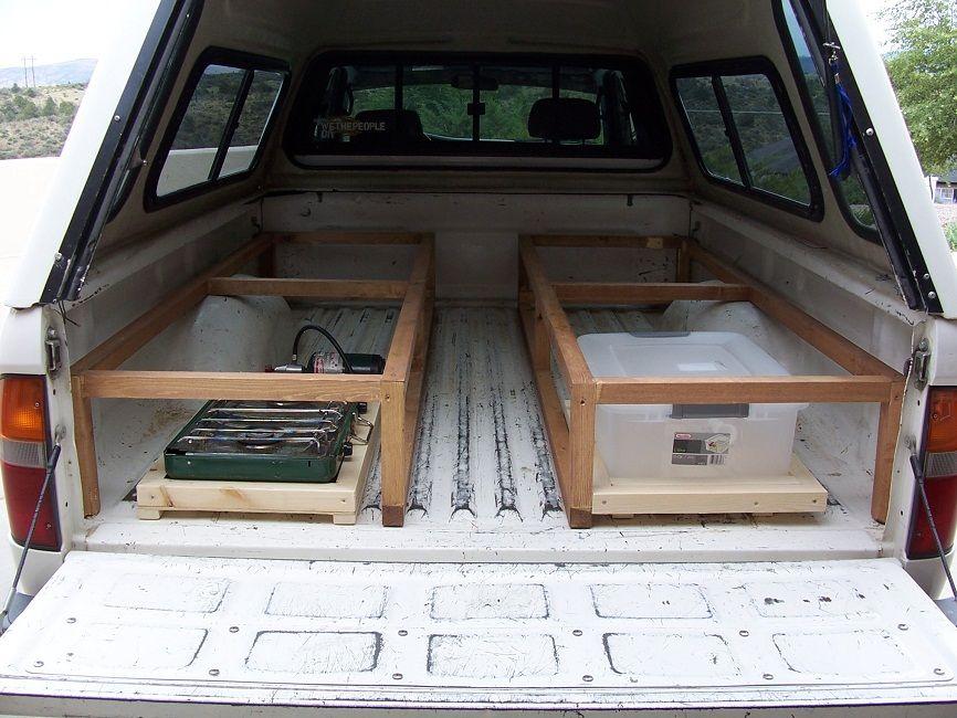 Truck Camper Shell Bed Truck Bed Camping Truck Camper Shells