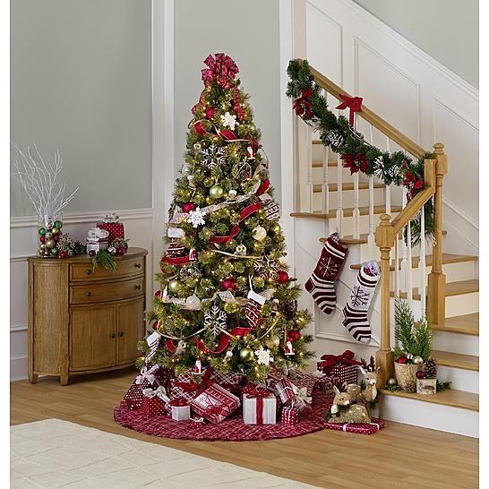 Sandra by Sandra Lee Merry Holiday Christmas Tree Trim Kit - Sandra By Sandra Lee Merry Holiday Christmas Tree Trim Kit