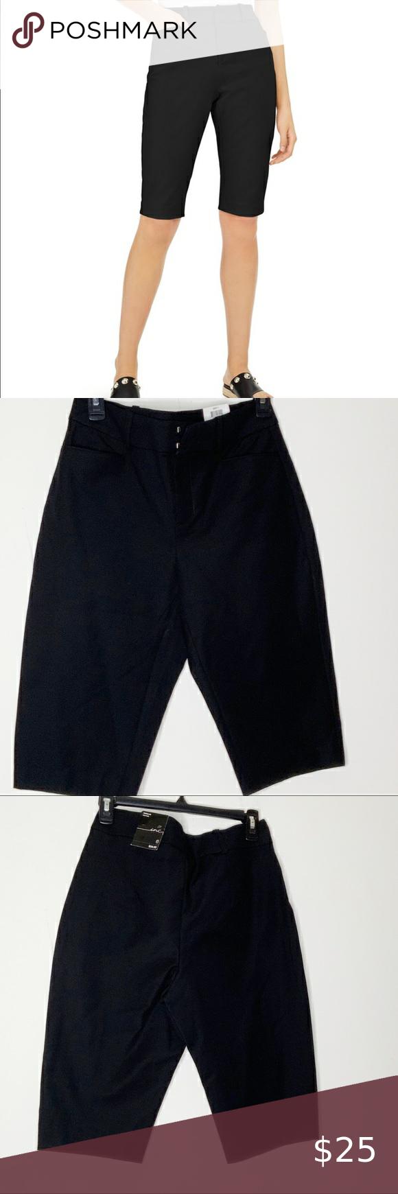 Inc Black Brit 1 Dress Shorts Size 6 Short Dresses Black Short Dress Clothes Design [ 1740 x 580 Pixel ]