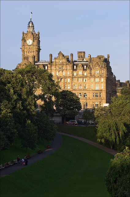 The Balmoral Hotel, Edinburgh, Scotland