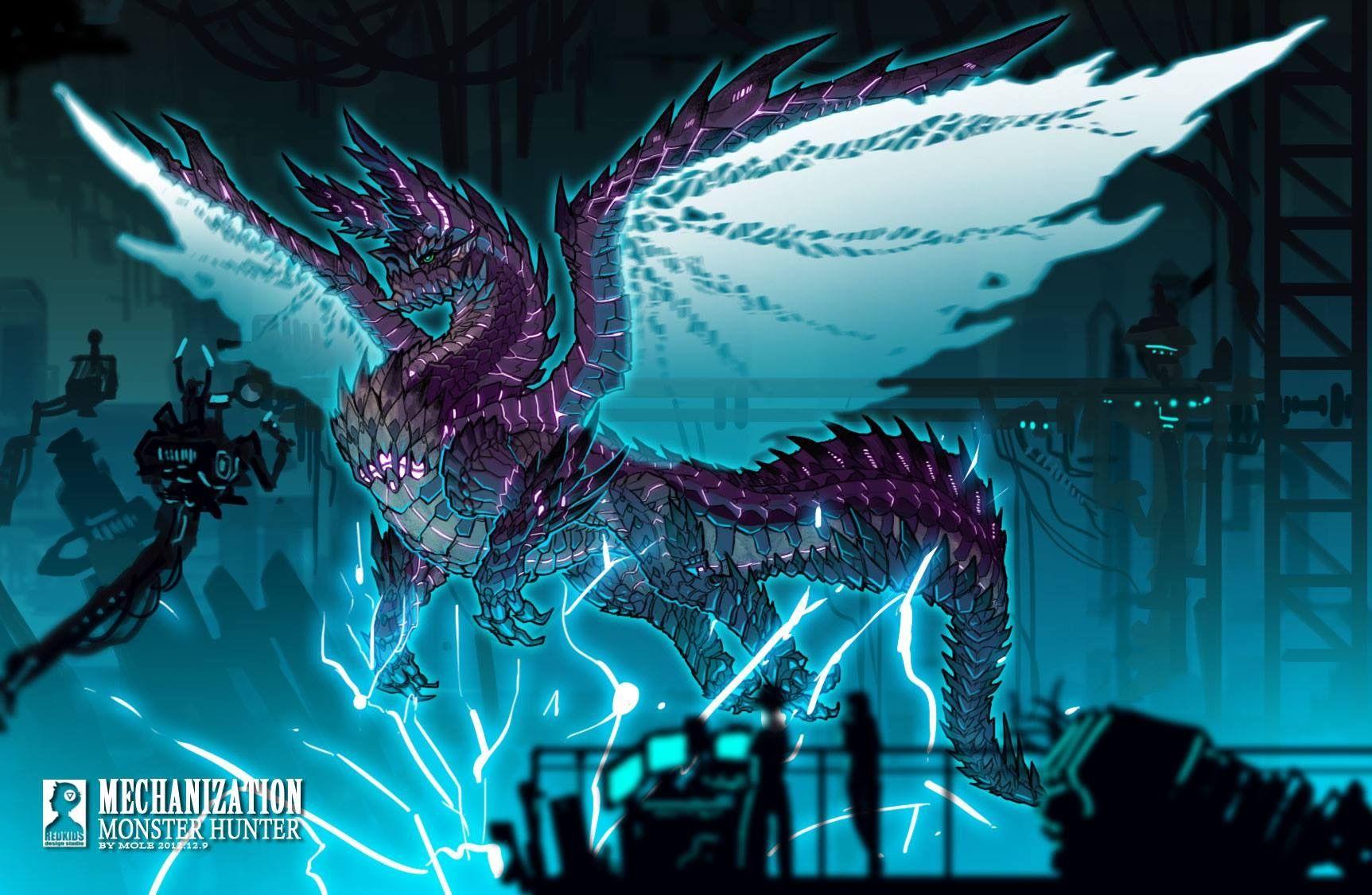 Alatreon Monster Hunter Monster Hunter Art Monster