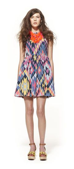 Finding myself rather fond of this one.    Gorman Online :: Spring/Summer 2012