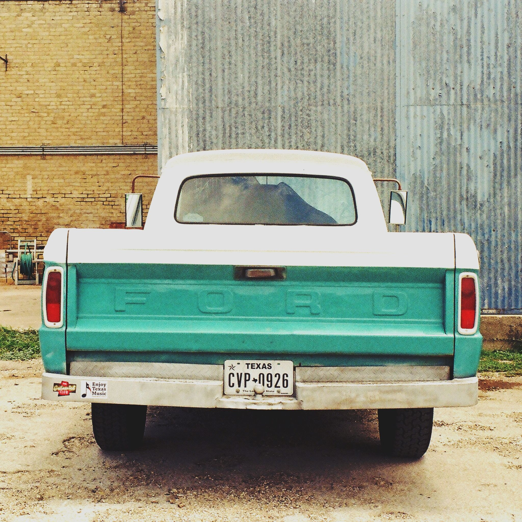 35mm film photography of Texas by Kat Swansey.    #35mm #film #photography #texas #smalltown #classictruck