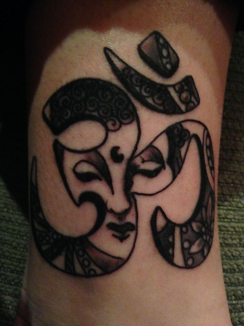 Om symbol tattoo tattoo tattoos pinterest om symbol tattoo om symbol tattoo tattoo buycottarizona Gallery