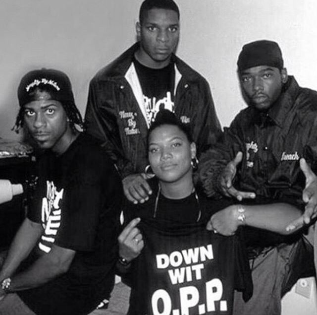 Naughty By Nature with Queen Latifah, '90s.
