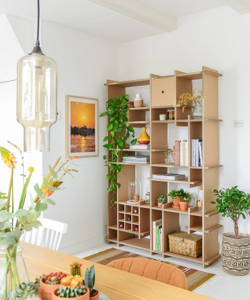 Styling idee open kast Raw Eco Design woonkamer ©BintiHome - Home ...