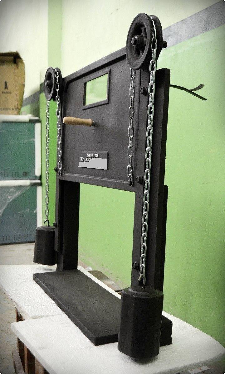 Puerta Guillotina Para Hornos De Pizzeria Buscar Con Google Hornos De Ladrillo Hornos Para Pizzas Ventanas De Guillotina