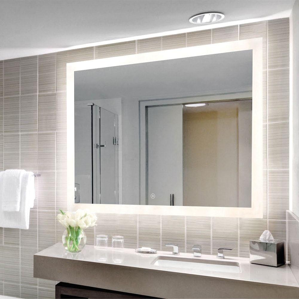 Mirrors Led Mirror Bathroom Bathroom Mirror Lights Light Up Bathroom Mirror