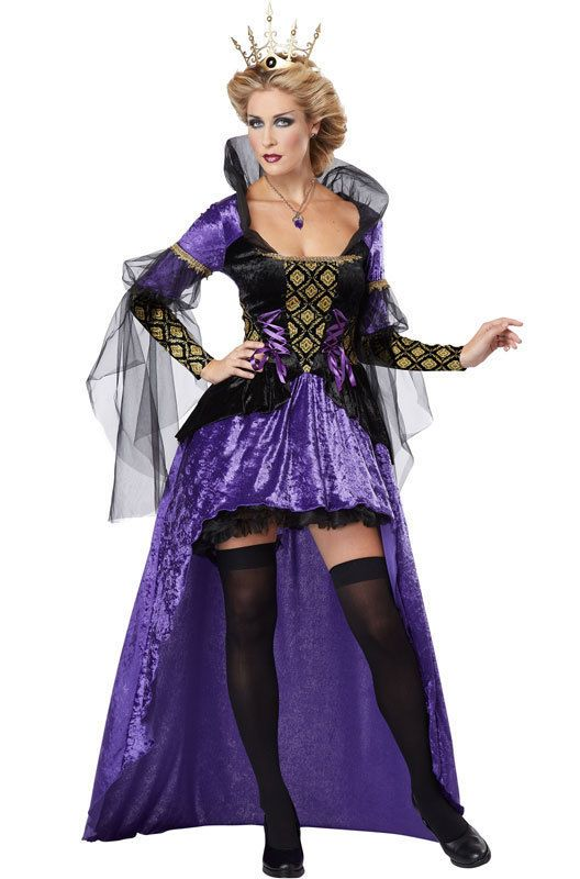 723e9d79367 Sexy Snow White Evil Wicked Queen Adult Halloween Costume   CaliforniaCostume  CompleteCostume