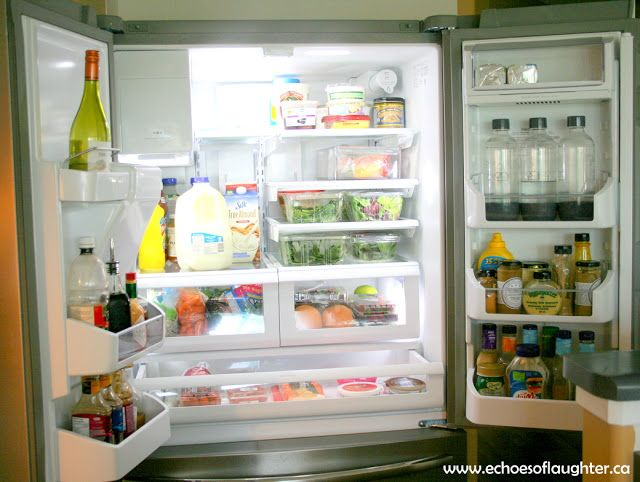 Organizing My Kitchen With The Frigidaire Gallery Fridge | French Door  Refrigerator, Refrigerator And Organizing