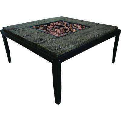In Tall Tiburon Stainless Steel Table Fire Pit Fire Pits - Tall stainless steel table