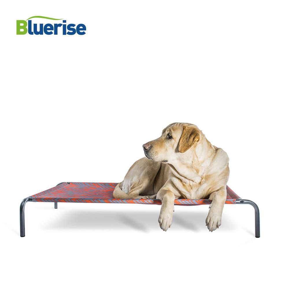 Bluerise Portable Dog Bed Elevated Waterproof Dog Cot Steel Framed