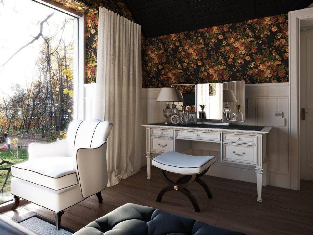 Lompier Interior Group Transitional Bedroom