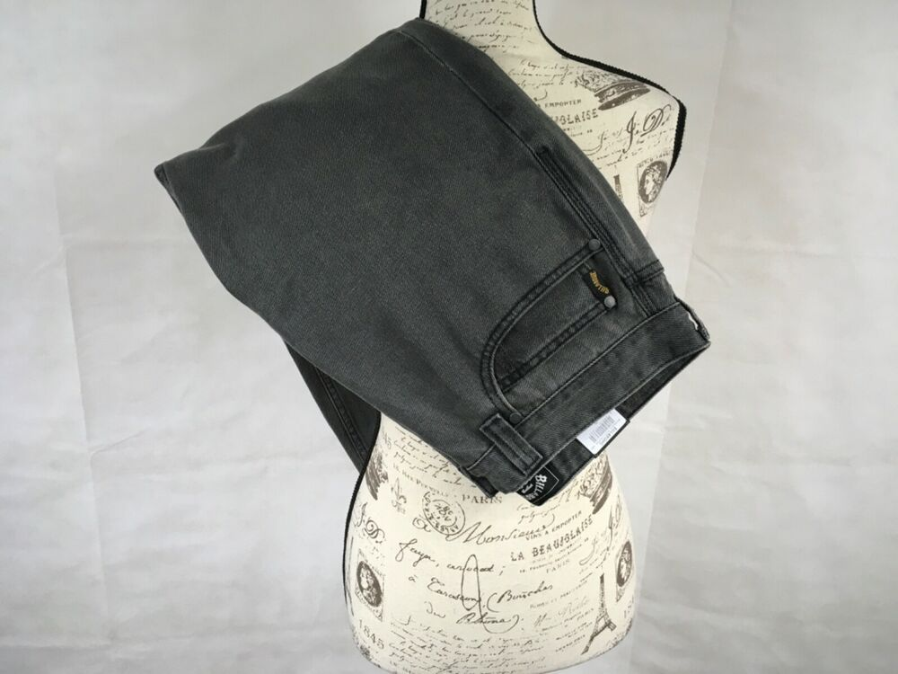 Billabong Fifty Straight Jeans Men's 33 Black Cropped Salt Water Wave Washed New #Billabong #Cropped