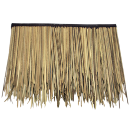 Baja Palm Artificial Thatch 3 Layer Sub Panel 31 L X 24 H Non Fire Rated 100 Recyclable Long Lasting And Highly Realistic Thatch Roof Shapes Roof Panels