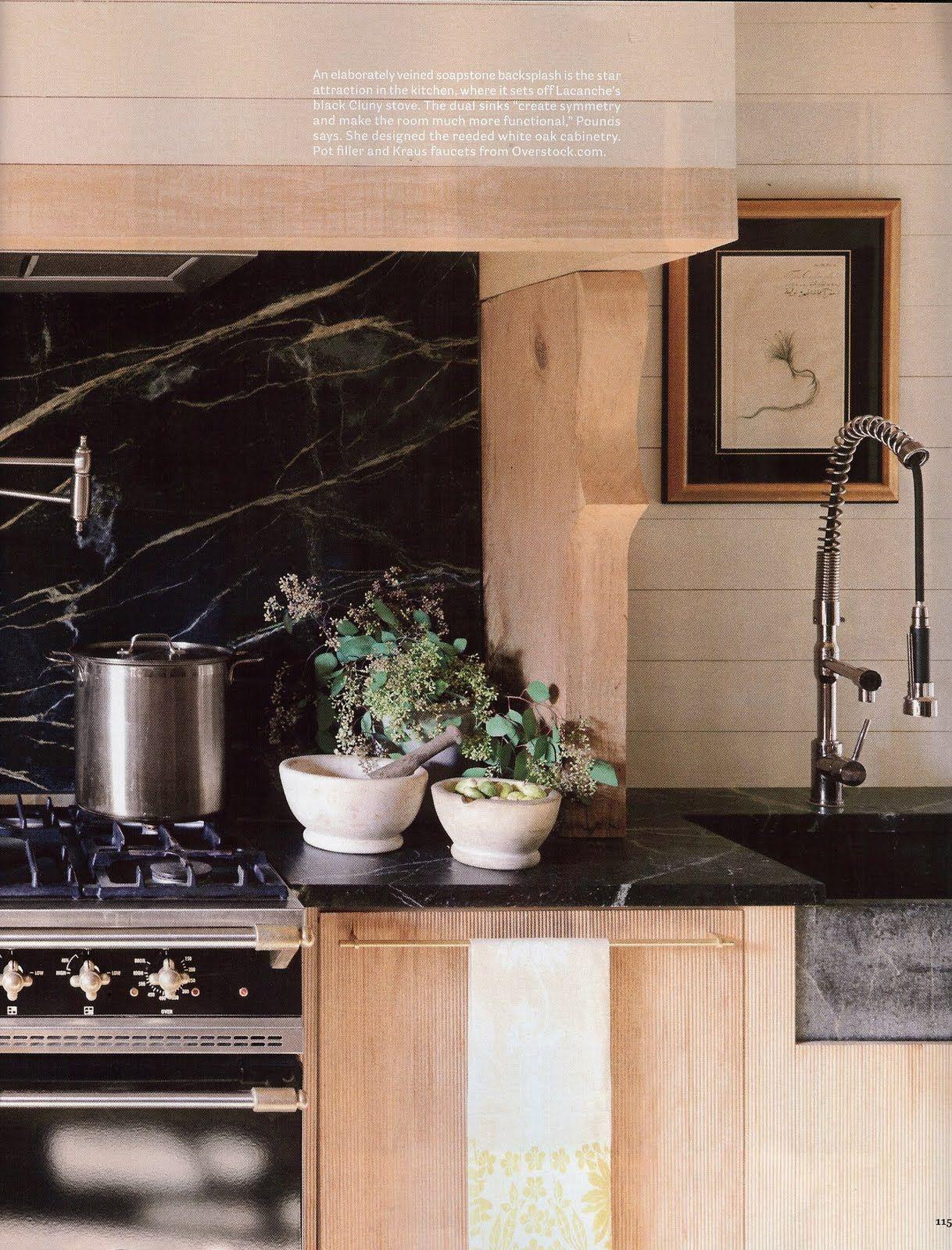 Reeded White Oak Cabinets White Oak Kitchen Soapstone Kitchen Oak Kitchen