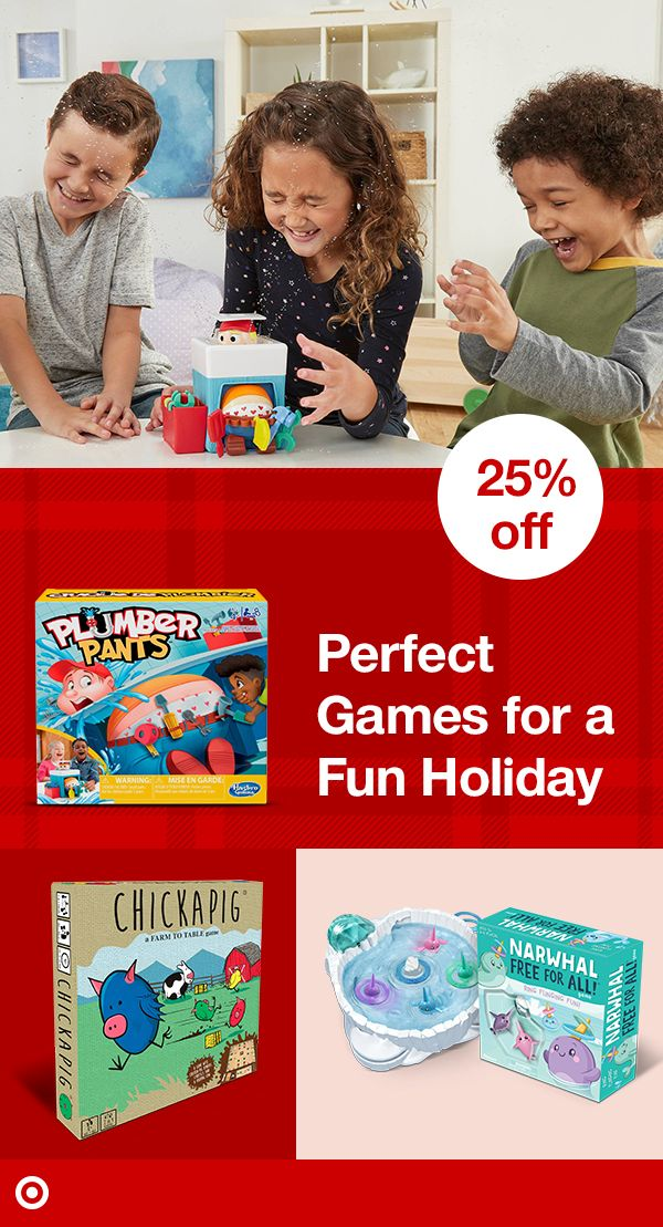 Get 25 off select family & kids' games this season