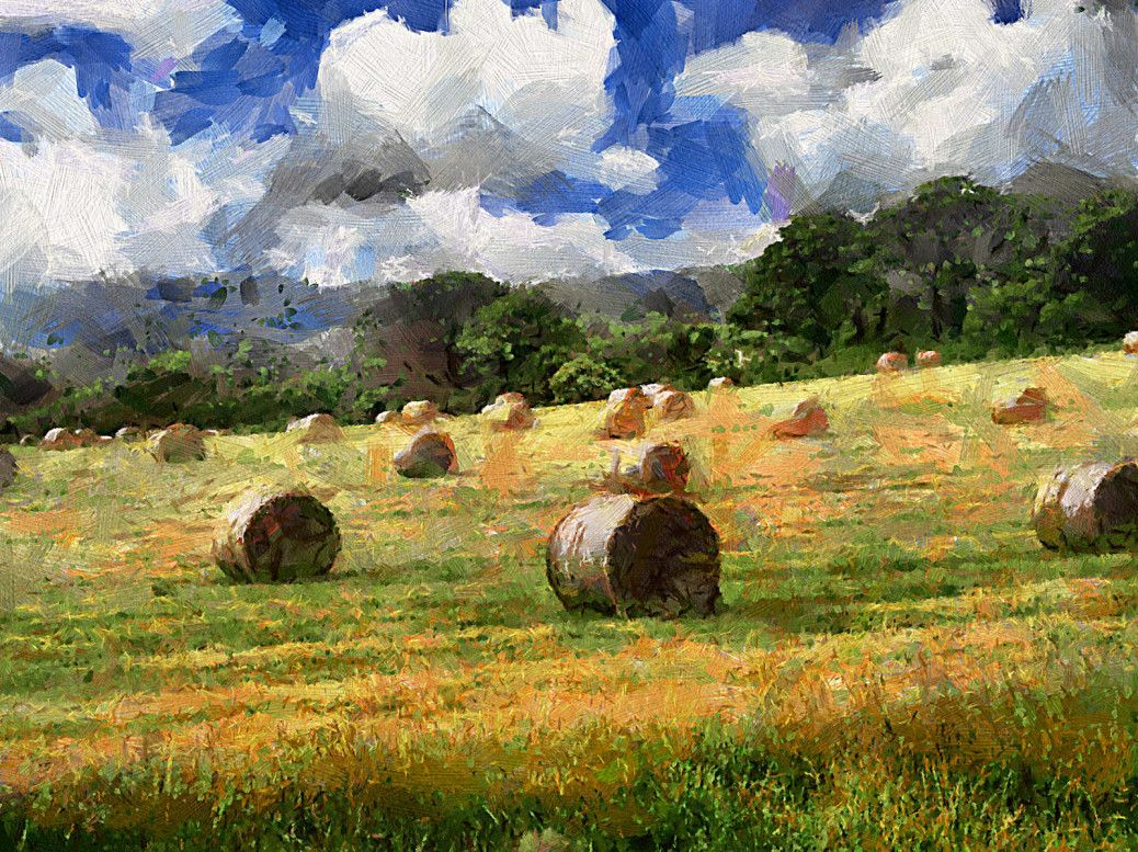 Exclusive landscape painting in oil art in 2019 famous