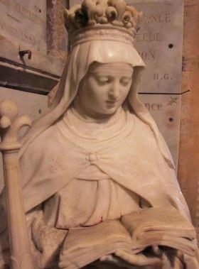 Sainte Radegonde souillée par du sang | Anne d autriche, Saint, Statue