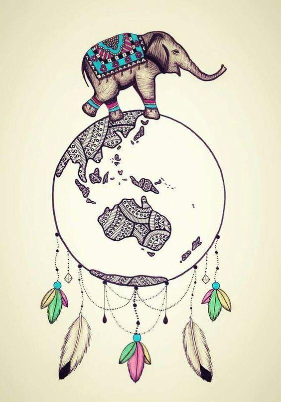 Pin De Mythological Creature En Dibujos Elefante Mandala Arte De Elefante Fondos De Pantalla Elefantes