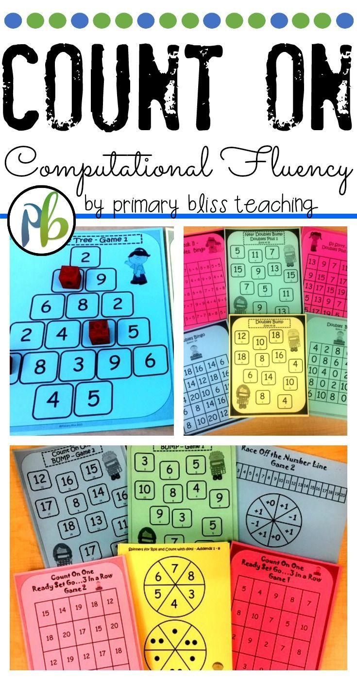 Count On Computational Fluency Unit | Kindergarten, Count and Activities