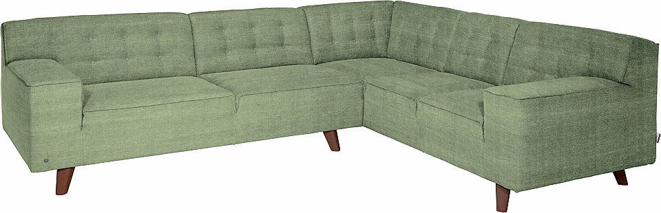 Quelle Sofa tom tailor große polsterecke nordic chic im retrolook füße