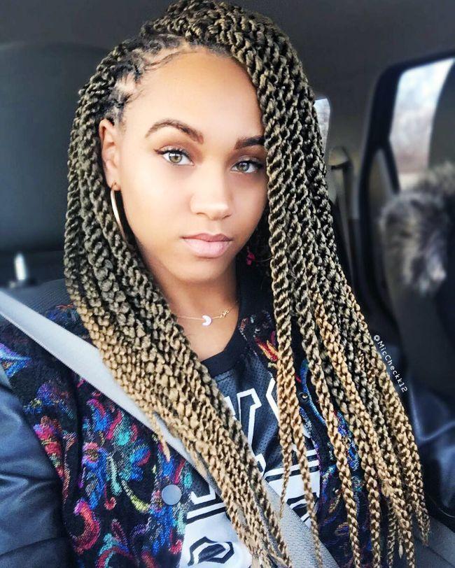 Bantu Knots & Braids for Natural Hair - Kids styles # Braids afro bantu knots # Braids afro bantu knots