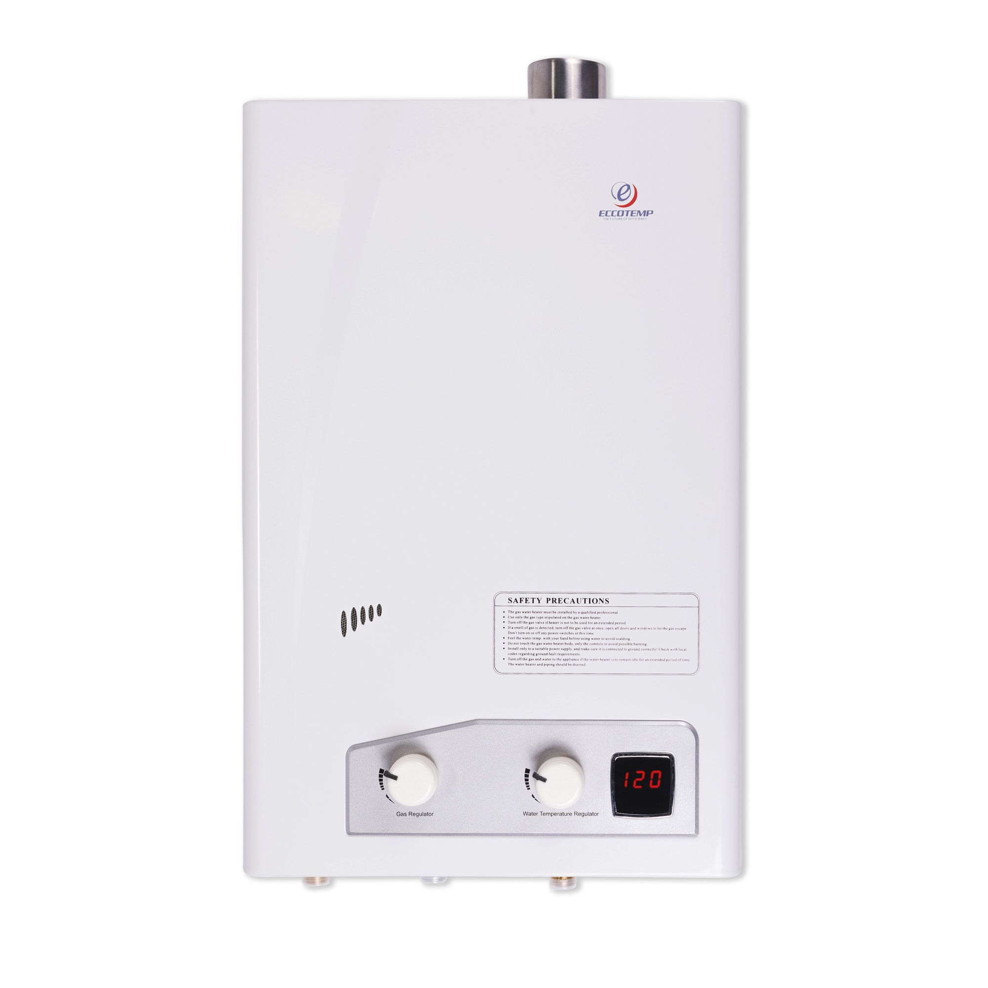 Eccotemp 4 0 Gallon Natural Gas Tankless Water Heater Natural Gas Water Heater Water Heating Heating Systems