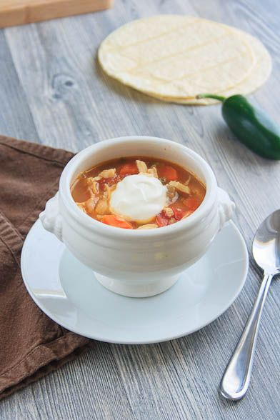 Ina Gartens Mexican Chicken Soup Great For A Day Like This Ina