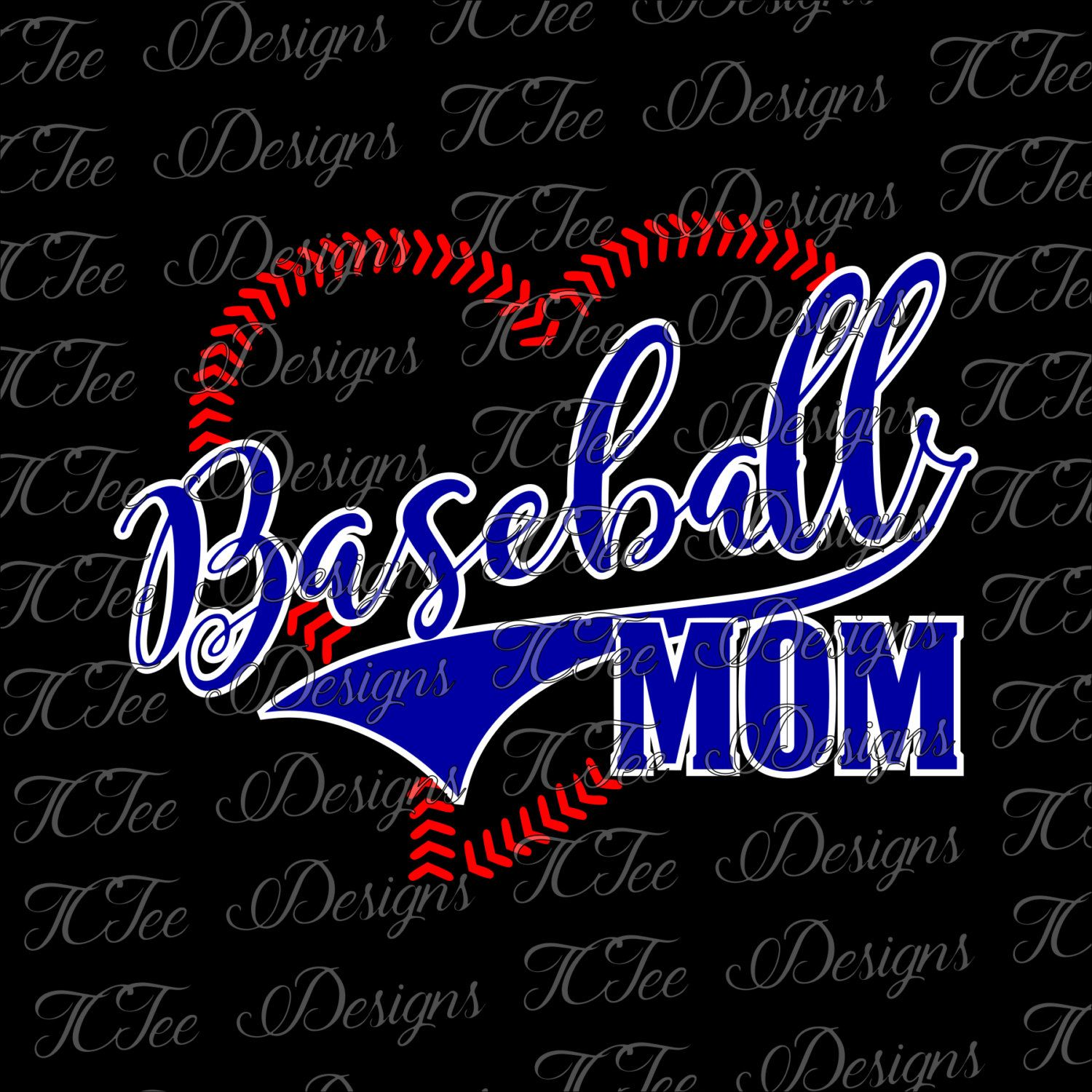 Baseball Mom SVG Download by TCTeeDesigns on Etsy