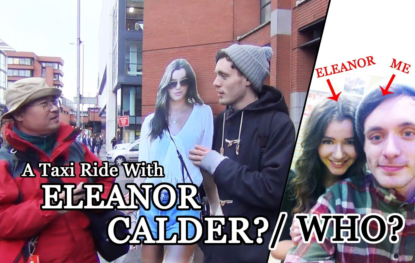 This dude is literally the luckiest guy EVER!! I want to meet Eleanor frickin Calder toooo!!!