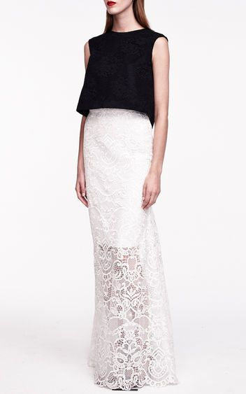 Yes, You Can Wear a Crop Top to a Formal Event. Monique Lhuillier ...