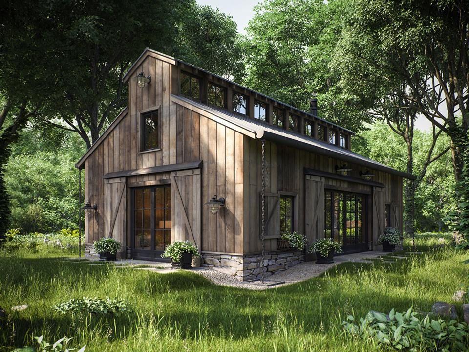 10+ Great Ideas for Modern Barndominium Plans | Pole barn ...