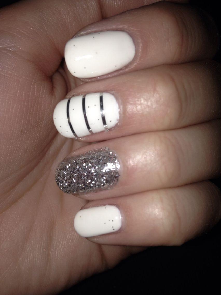 The perfect shellac party nail