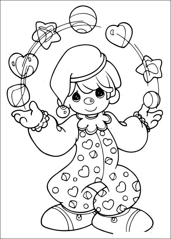 Free Printable Precious Moments Coloring Pages For Kids ...