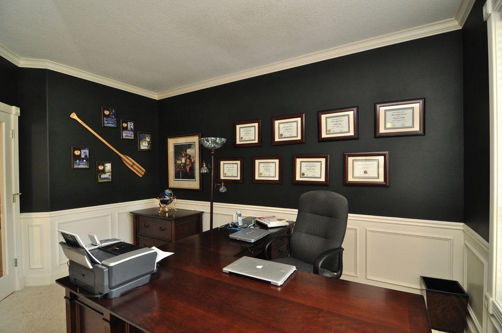 30 Masculine Home Office Ideas For Men Home Office Design