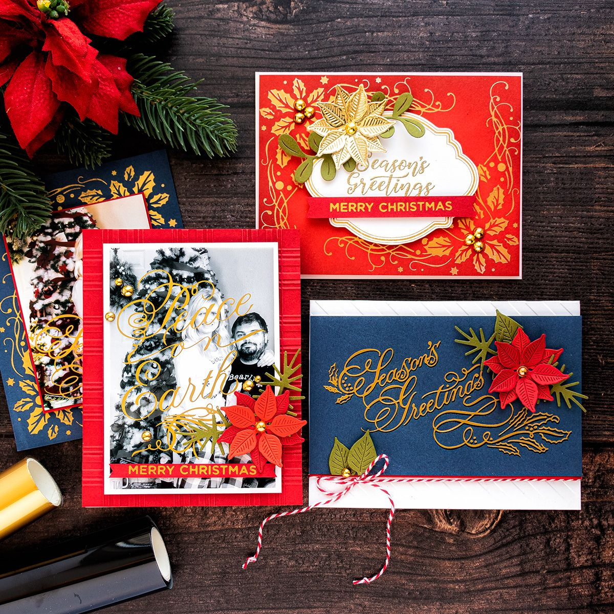 Tips & Tricks For Hot Foil Holiday Cards. Video