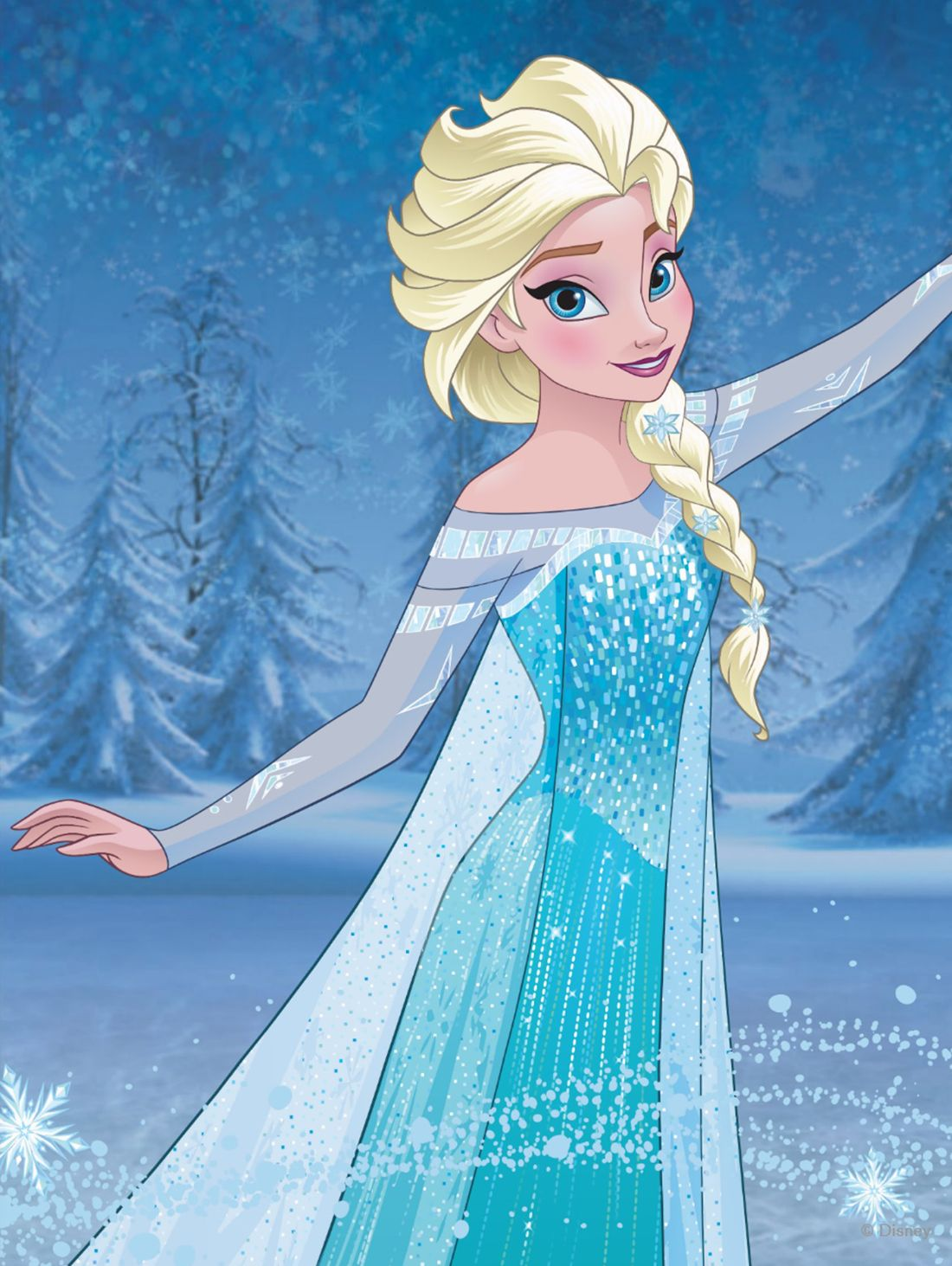 Frozen Elsa Con Imagenes Princesas Disney Arte Disney Dibujos