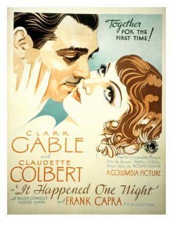 'It Happened One Night, Clark Gable, Claudette Colbert, 1934' Photo - | AllPosters.com